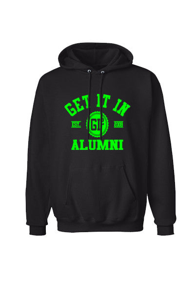 Alumni Hooded sweatshirt - GET IT IN Apparel