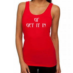 "Women GI ""tight fit""Tank Tops - GET IT IN Apparel"