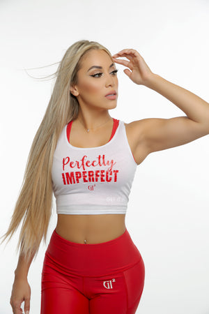 PERFECTLY IMPERFECT Crop tank