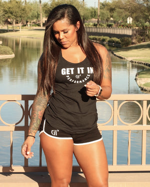 Ladies performance Tank - GET IT IN Apparel