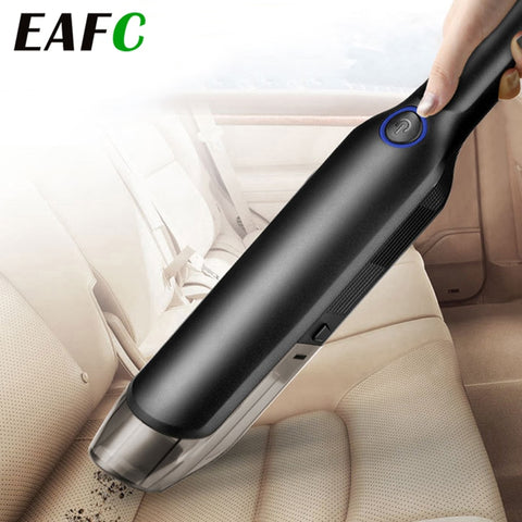 Handheld Wireless Vacuum Powerful Cyclonic Suction Rechargeable Car Vacuum - Auto Extra Parts
