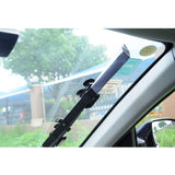 CAR FRONT WINDSHIELD RETRACTABLE SILVER, WINDOW SUNSHADE VISOR UV BLOCK COVER - Auto Extra Parts