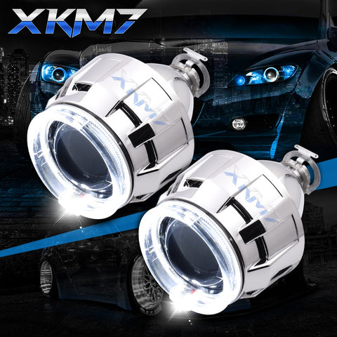 Upgrade HID Lens Headlight Bi-xenon, H1 H4 H7 2.5 inch - Auto Extra Parts