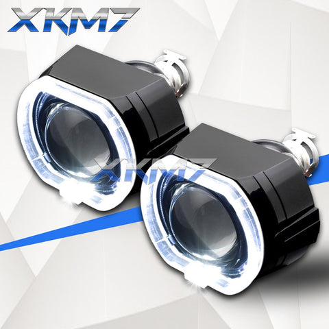 Car Lenses H4 H7 Bi-xenon Projector Headlight - Auto Extra Parts