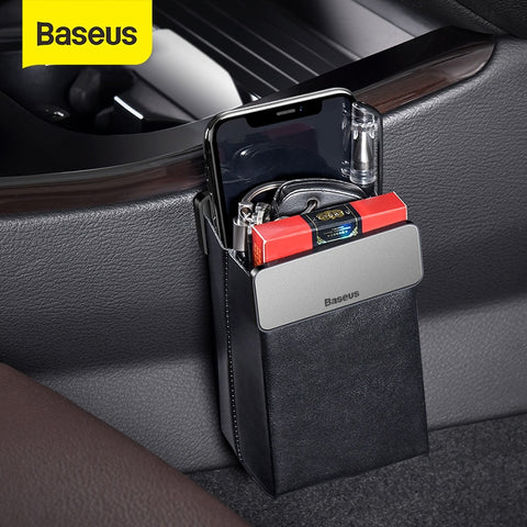 Magic Car Storage Rack Bag Leather - Auto Extra Parts