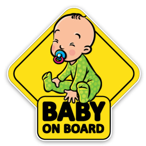 Car Sticker Funny BABY ON BOARD - Auto Extra Parts