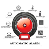 Car TPMS Tire Pressure Alarm Monitor System Tire Temperature Real-Time +4 Sensor - Auto Extra Parts