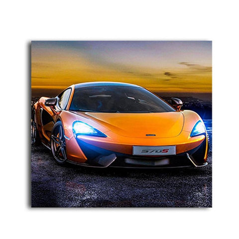 Orange Lamborghini Design Photos Cars - 18A - Auto Extra Parts