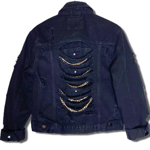 Chain Me Denim Jacket