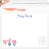 Chinoiserie Note Card Set of 10 | Peonies Please