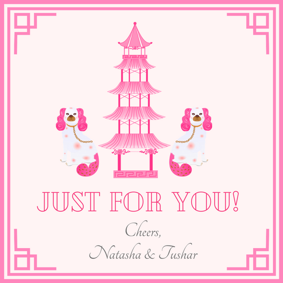 CHINOISERIE GIFT TAGS | Pink Pagodas Please