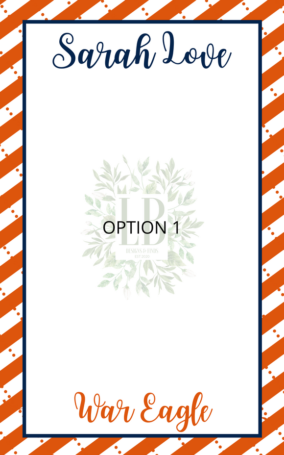 Collegiate Notepads | TIGERS