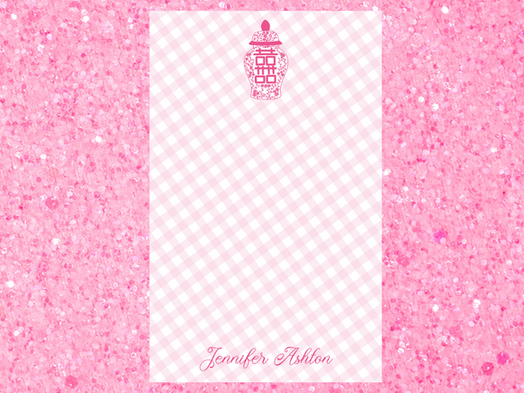 Pink Is My Signature Color Notepad