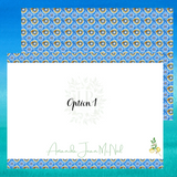 Mediterranean Note Card Set of 10 | Tiles from the Med