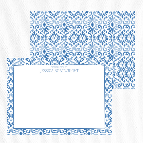 Chinoiserie Note Card Set of 10 | Take me to Morocco