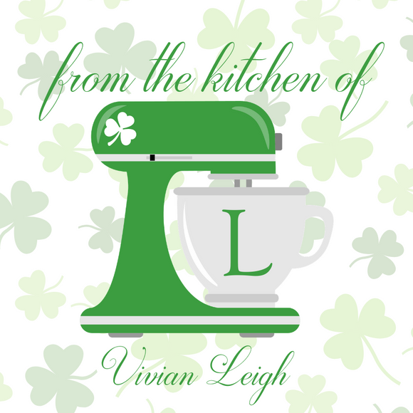 Gift Tag | From the Kitchen of Shamrock I