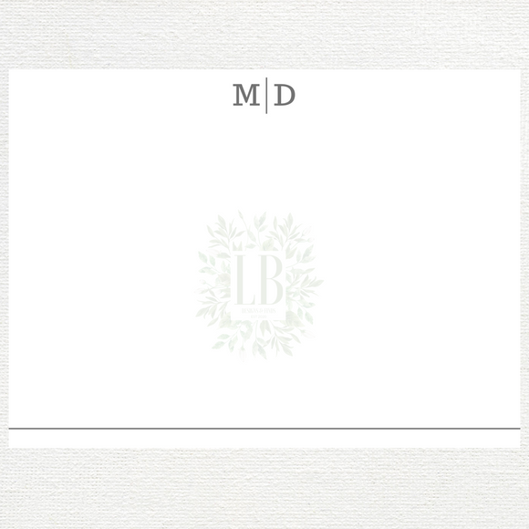 Classic Stationery Set | 10 Note Cards