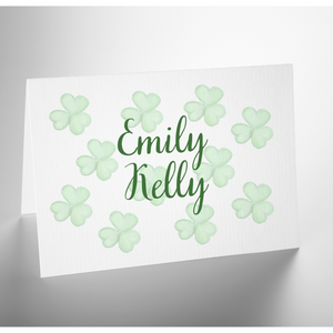 Personalized Folded Note Card | Feelin' Lucky