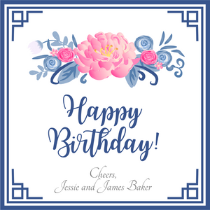 Happy Birthday GIFT TAGS | Peonies Please