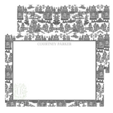 Chinoiserie Note Card Set of 10 | Dreaming of Pagodas