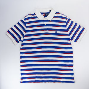 Chaps by Ralph Lauren Striped Polo - L