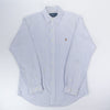 Ralph Lauren Casual Shirt Blue/White - M/L