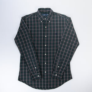 Ralph Lauren Chequered Shirt Green - S