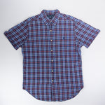 Ralph Lauren Short Sleeve Shirt Blue/Red- M