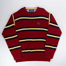 Load image into Gallery viewer, Tommy Hilfiger Knit Sweater Red - L