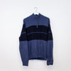 Nautica Knitted 1/4 Zip Sweatshirt - Large