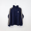 Adidas 1/4 Zip Fleece - Medium