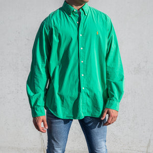 Ralph Lauren Casual Shirt Green - XL