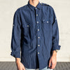 Ralph Lauren Casual Shirt Navy - XL
