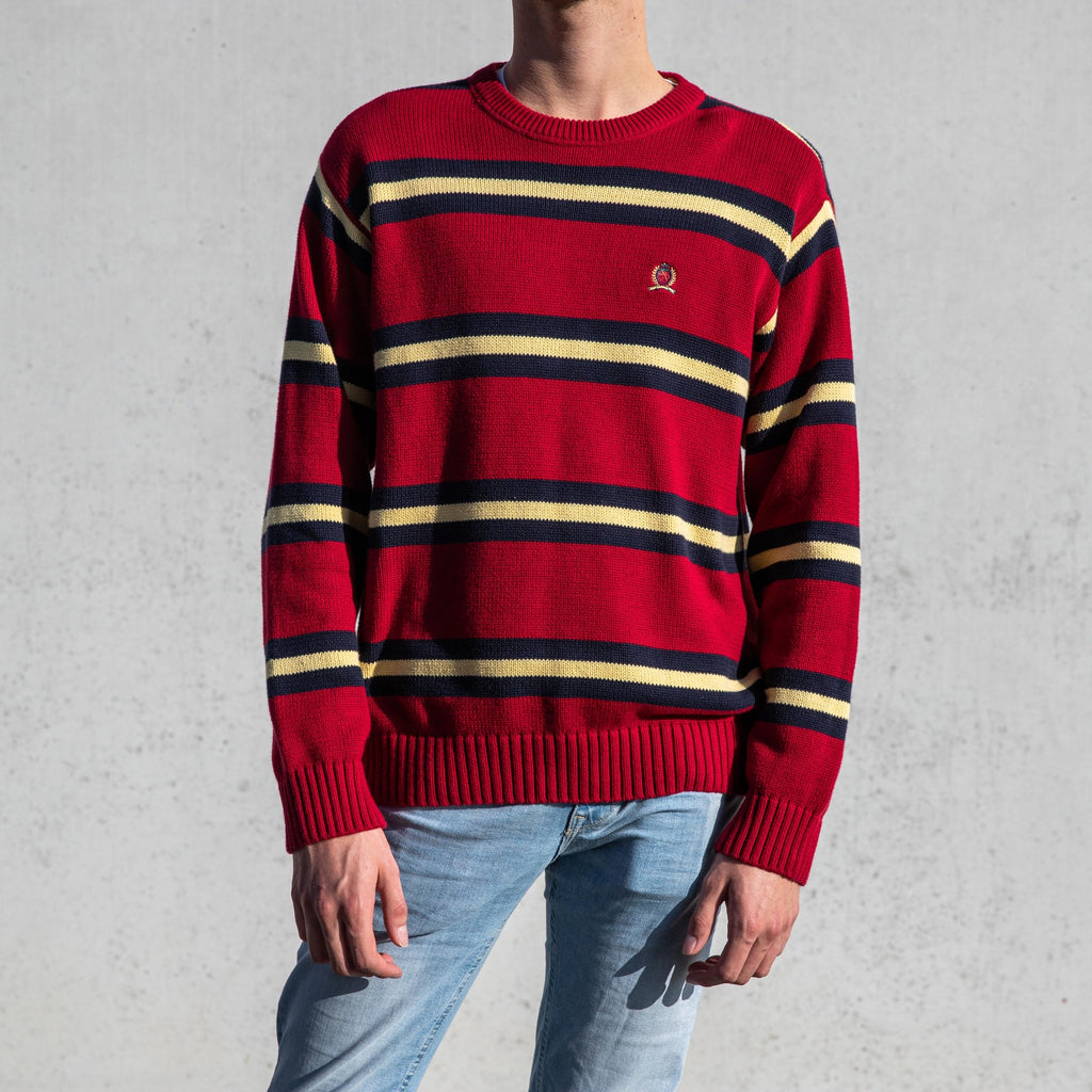 Tommy Hilfiger Knit Sweater Red - L