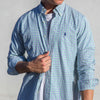 Ralph Lauren Casual Shirt Green/Purple - S/M