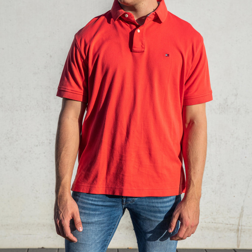 Tommy Hilfiger Polo Coral - L