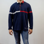 Tommy Hilfiger 1/4 Zip Sweatshirt - Large