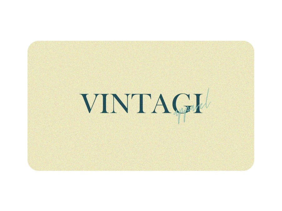 Vintagi, Vintage Clothing Gift Card
