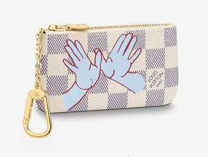 LV Girly House Blue Jean Damier