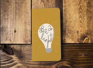 Be the Light | Leather Notebook