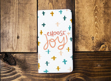 Load image into Gallery viewer, Choose Joy | Leather Notebook