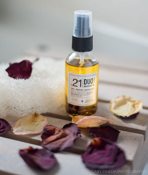 NO. 21 | DUO | BODY + MASSAGE OIL