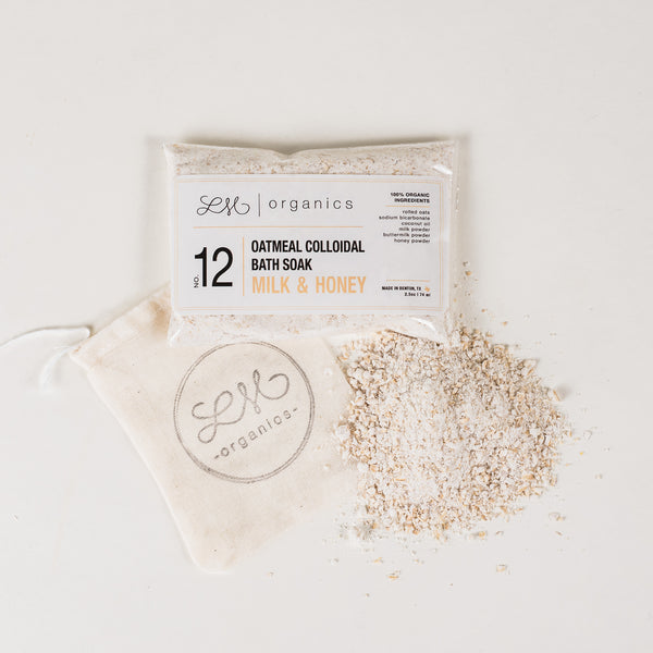 NO. 12 | OATMEAL COLLOIDAL BATH SOAK