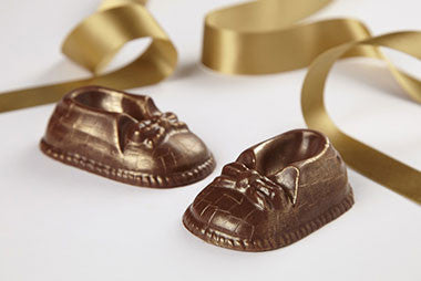baby chocolate shoes