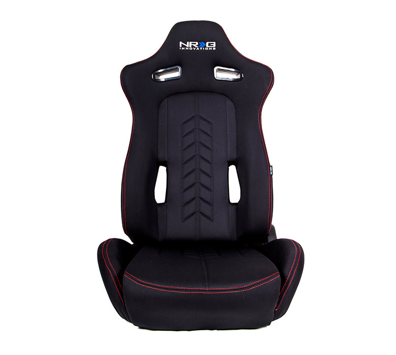 Reclindable Racing Seat Arrow in Cloth