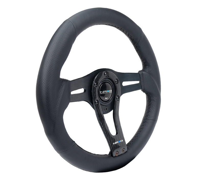 CARBON FIBER STEEERING WHEEL CARBON CENTER SPOKE