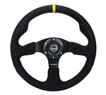 RACING STEERING WHEEL ALCANTARA