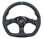 FLAT BOTTOM STEERING WHEEL LEATHER