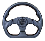 CARBON FIBER STEERING WHEEL FLAT BOTTOM