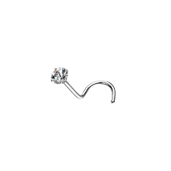 CZ Diamond Nose Screw